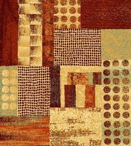 Alfombra de lana moderna para salón, pasillos, Bali 786 Unico