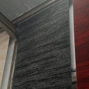 alfombra lisa moderna en liso jaspeado
