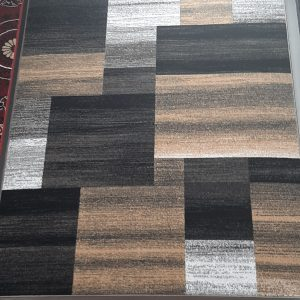 alfombra a cuadros jaspeados