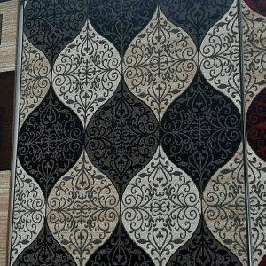 alfombra en forma abstracta