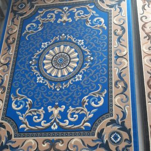 alfombra clasica en acrilico