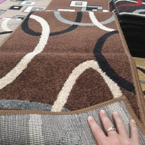 alfombra de pie de cama o recibidor, liso rallas