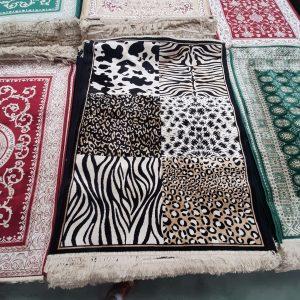 alfombra fina moderna mod:leopardo