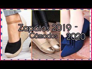 ESPECTACULARES ZAPATOS DE MODA 2019/2020 Zapatos cómodos para Mujer| Moda Zapatos de Piso y sinbajo