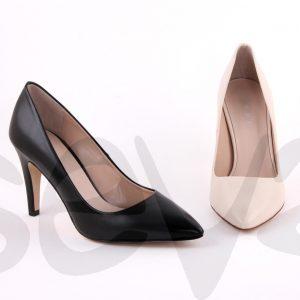 Zapato mujer de vestir clásico de tacón aguja alto aya8 ehya