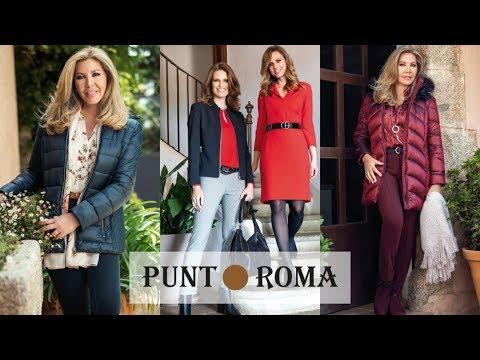 Moda Punt Roma | Nueva Colección Otoño Invierno 2019 2020 | Tendencias para Mujer de 50 años o más