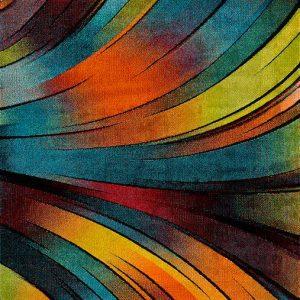 Alfombra de Arte Abstracto Koby 24184 21 Multi